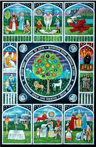 Jungian Tarot: Card Back