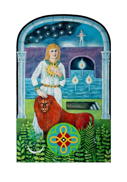 278 Best Tarot Art - Strength Images On Pinterest